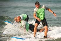 golfsurfen personeelsuitje