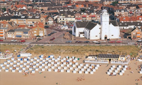 personeelsuitje Katwijk strand