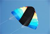 powerkiten vliegeren strand bedrijfsuitje