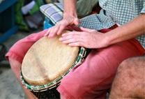 muziek workshop djembe