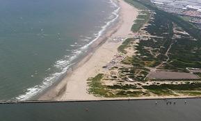 personeelsuitje Hoek van Holland strand